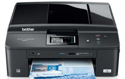 Brother DCP-J725DW All-in-One InkJet Printer with refillable cartridges