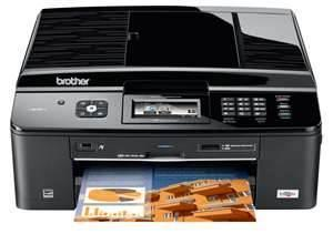 Brother MFC-J825DW All-in-One InkJet Printer with refillable cartridges