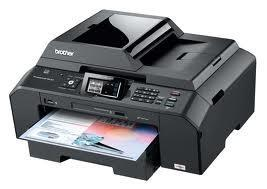Brother MFC-J5910DW All-in-One InkJet Printer with refillable cartridges