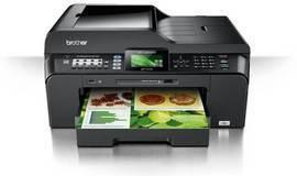 Brother MFC-J6510DW All-in-One InkJet Printer with refillable cartridges