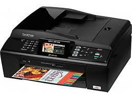 Brother MFC-J615W All-in-One InkJet Printer with refillable cartridges