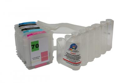 Continuous ink supply system (CISS) HP Designjet Z2100/Z3100 (cartridges 70)