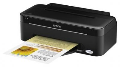 Epson Stylus S22 with refillable cartridges