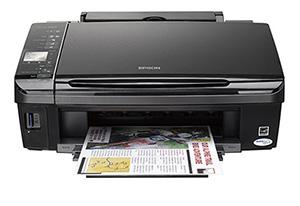 Epson Stylus SX420W with refillable cartridges