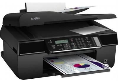 Epson Stylus Office BX305F with refillable cartridges