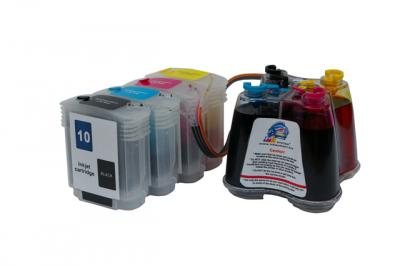 Continuous ink supply system (CISS) HP 500/800 (cartridges 10, 82)