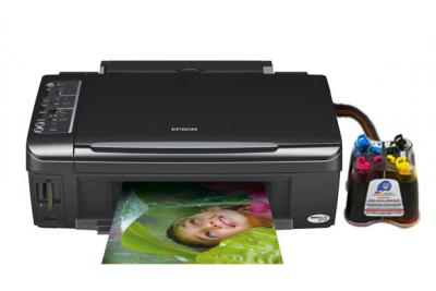 Epson Stylus SX200/SX205 All-in-one InkJet Printer with CISS