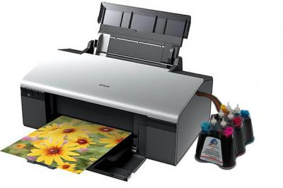 Epson Stylus Photo R280 Inkjet Printer with CISS