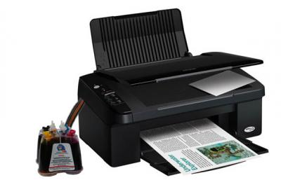 Epson Stylus SX105 All-in-one InkJet Printer with CISS