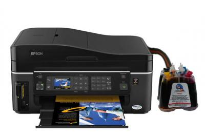 Epson Stylus Office SX600FW All-in-one InkJet Printer with CISS