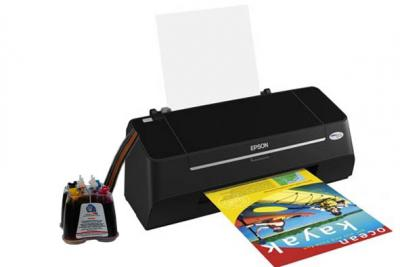 Epson Stylus S20 Inkjet Printer with CISS