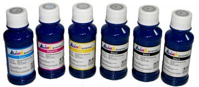 Set of photo ink INKSYSTEM for Epson L550 (6*100 ml)