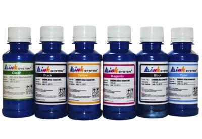 Set of photo ink INKSYSTEM for Canon PIXMA MX7600 (6 colors*100 ml)