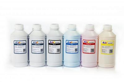 Set of photo ink INKSYSTEM for HP DesignJet 120 (6 colors*1000 ml)