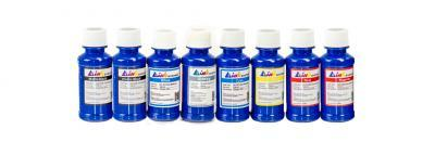 Set of ultrachrome ink INKSYSTEM for Epson R800/R1800 100 ml. (8 colors)