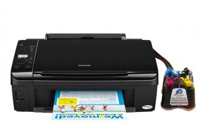 Epson Stylus Sx420w All In One Inkjet Printer With Ciss