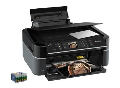 All-in-one Epson Stylus Photo PX650 with refillable cartridges
