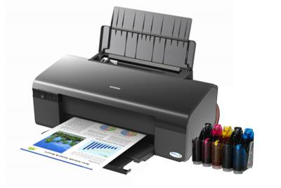 Epson Stylus D120 Inkjet Printer with CISS