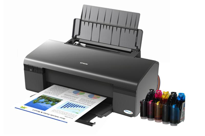 Epson Stylus D120 Inkjet Printer With Ciss Inksystem Usa