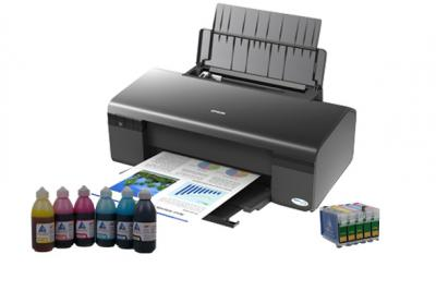 Printer Epson Stylus Office D120 with refillable cartridges
