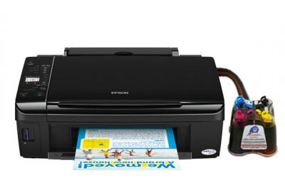 Epson Stylus SX210 All-in-one InkJet Printer with CISS