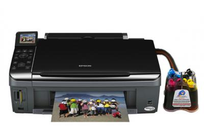 Epson Stylus SX410 All-in-one InkJet Printer with CISS