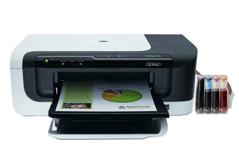 HP Officejet 6000 InkJet Printer With CISS