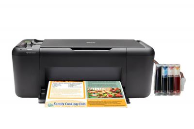 HP Deskjet F4583 InkJet Printer with CISS