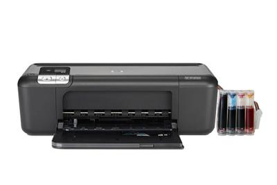 HP Deskjet D5563 InkJet Printer with CISS