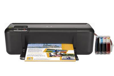 HP DeskJet D2663 InkJet Printer with CISS
