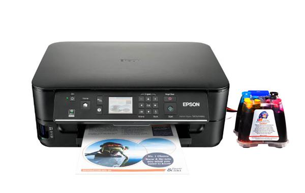 Epson Stylus Sx525wd All In One Inkjet Printer With Ciss