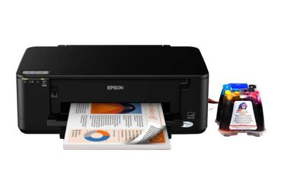 Epson Stylus Office B42WD All-in-one InkJet Printer with CISS