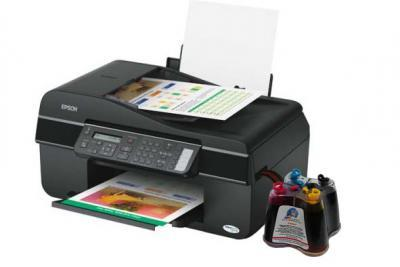 Epson Stylus Office BX320FW  All-in-one InkJet Printer with CISS