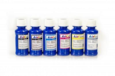 Set of photo ink INKSYSTEM for HP Photosmart 3210v (6 colors*100 ml)
