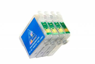Refillable Cartridges for  Epson WorkForce WF-3520DWF