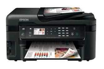 Epson WorkForce WF-3520 with refillable cartridges