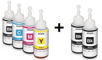 Set of Original ink Epson for Epson L550 (6*70 ml)