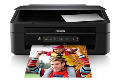 Epson Expression Home XP-202 with refillable cartridges