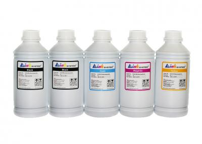Set of Pigment Ultra ink INKSYSTEM for Epson SureColor SC-T3000 (5 colours*1000 ml)