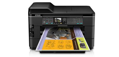 Epson WorkForce WF-7520 All-in-One Printer with CISS