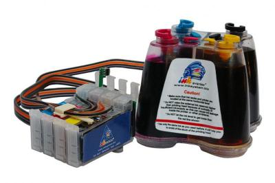 Continuous Ink Supply System (CISS) for Epson TX515FN