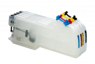 Refillable cartridges for Brother MFC 240C/440CN/665CW/665CN/1360/3360C/5460C/5460CN (960)