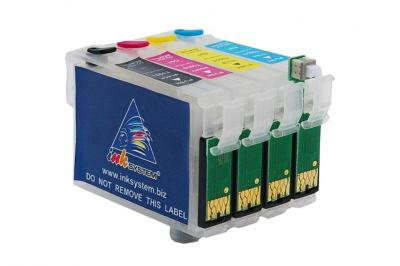 Refillable Cartridges EPSON Stylus Office BX300F (T0711, T0712, T0713, T0714)