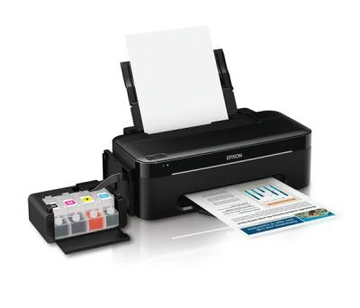 Epson L100 Inkjet Printer with original CISS