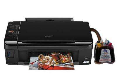 Epson Stylus SX218 All-in-one InkJet Printer with CISS