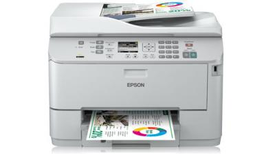 Printer Epson WorkForce Pro WP-4525DNF with refillable cartridges