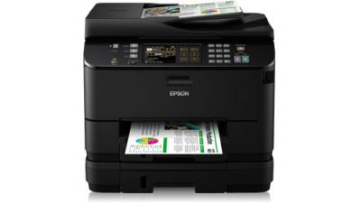 Printer Epson WorkForce Pro WP-4545DTWF with refillable cartridges