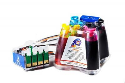 Continuous Ink Supply System (CISS) for Epson bx305f.