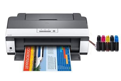 Epson Workforce 1100 Inkjet Printer with CISS