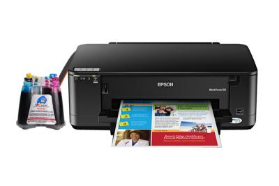 Epson WorkForce 60 Inkjet Printer with CISS